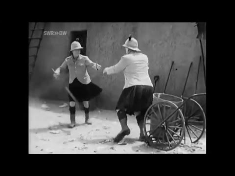 Mashup Monday: Laurel and Hardy dance to The Jean Genie by David Bowie