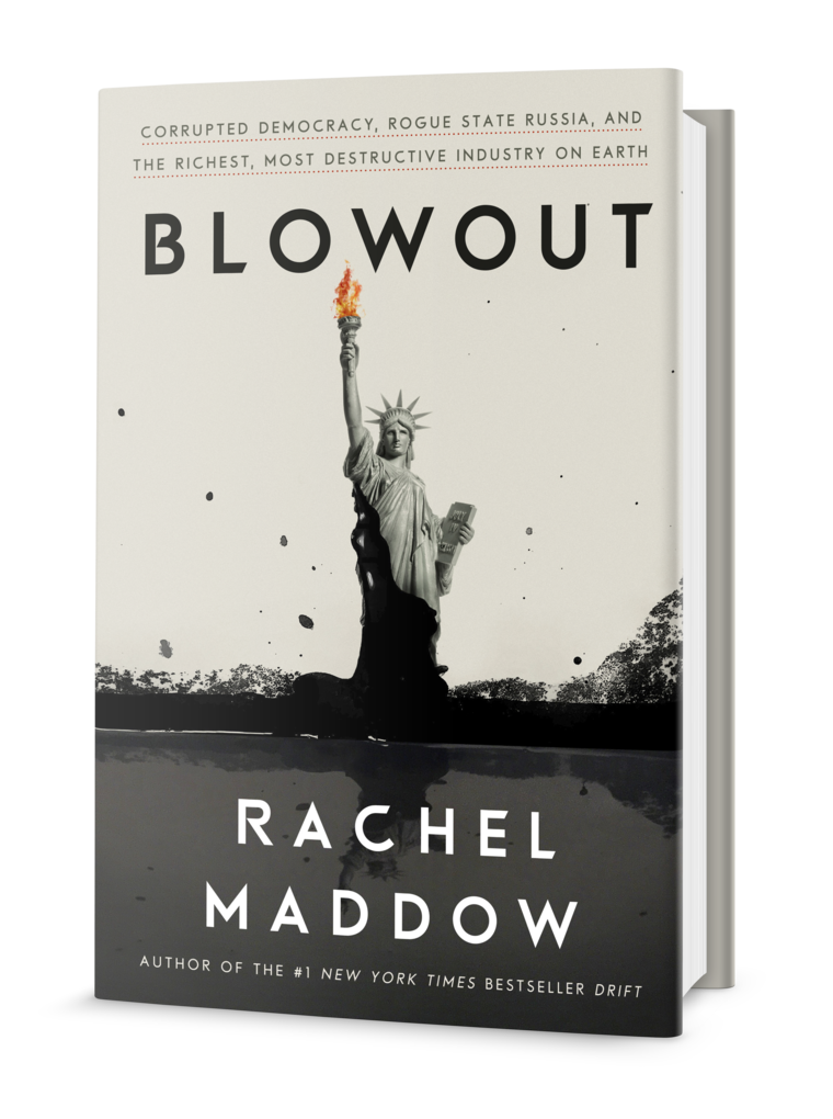 Friday Reads: Blowout by Rachel Maddow