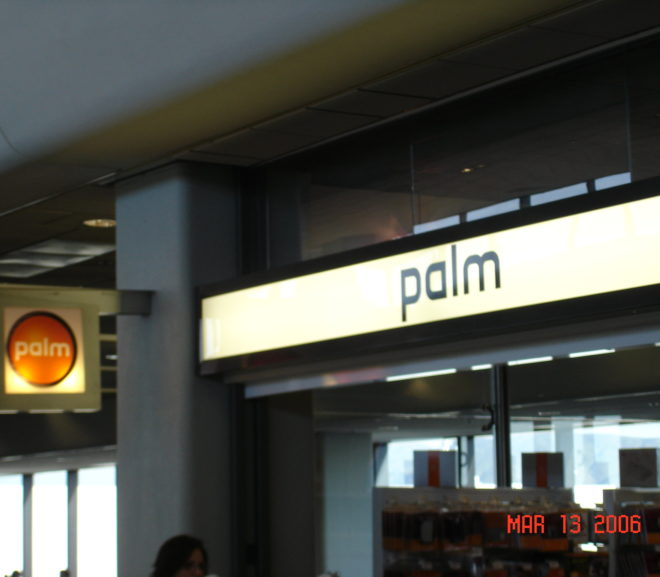 Throwback Thursday: The Palm Store @ SFO
