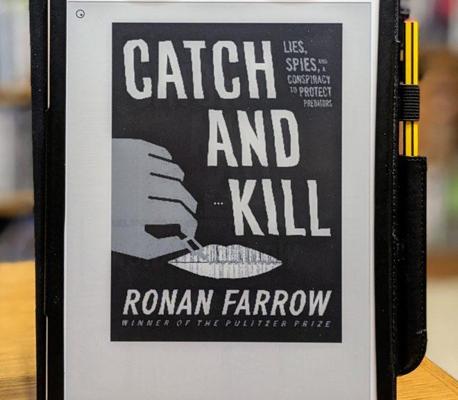 Friday Reads: Catch and Kill by Ronan Farrow