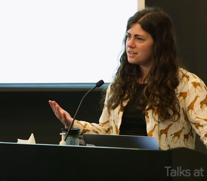 "Friday Video: Janelle Shane: ""You Look Like a Thing and I Love You"" 