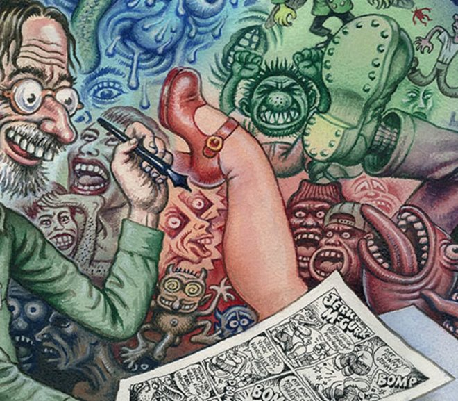 Friday Video: Robert Crumb Interview: A Compulsion to Reveal