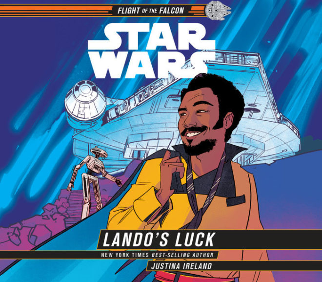 Friday Reads: Star Wars: Lando's Luck by Justina Ireland