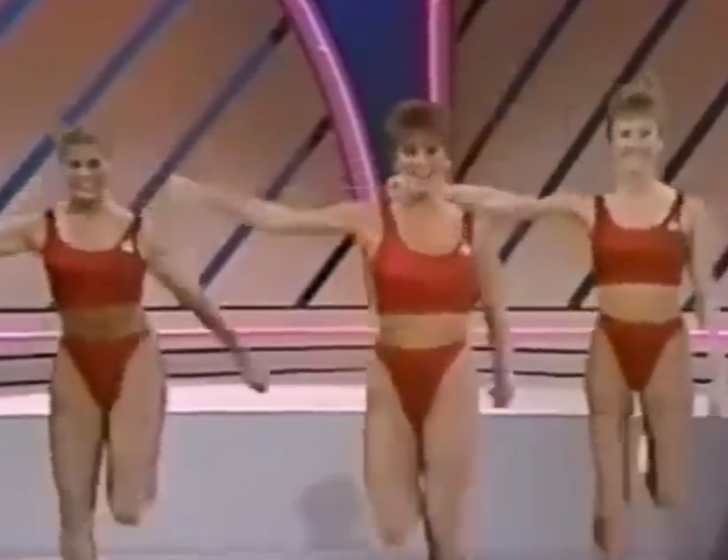 Mashup Monday: The same 80s Aerobics video with different songs: Sex Pistols – Holidays In The Sun