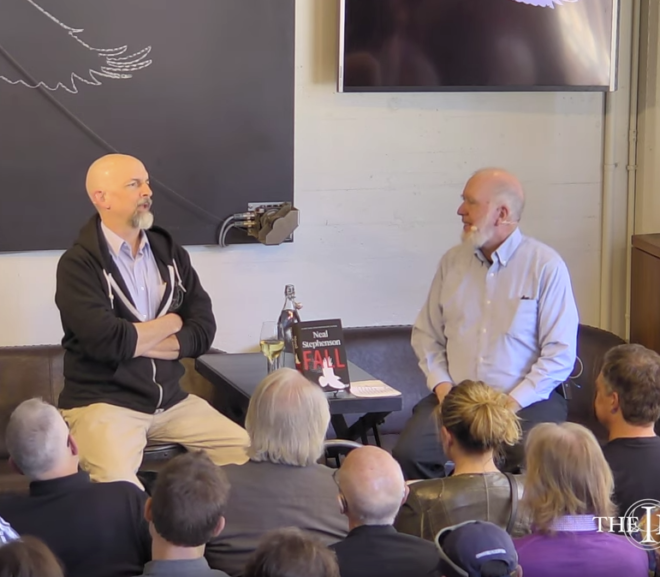 Friday Video: Kevin Kelly interviews Neal Stephenson