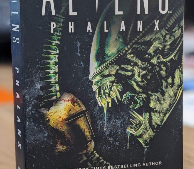 Friday Reads: Aliens: Phalanx by Scott Sigler
