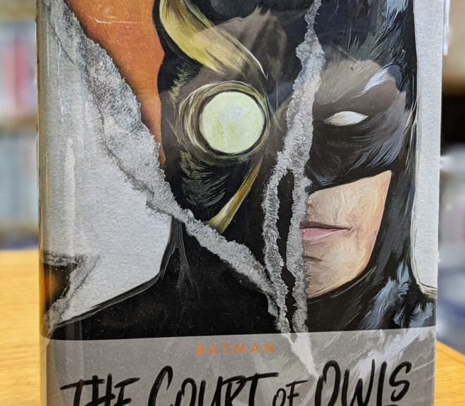 Friday Reads: Batman: The Court of Owls by Greg Cox