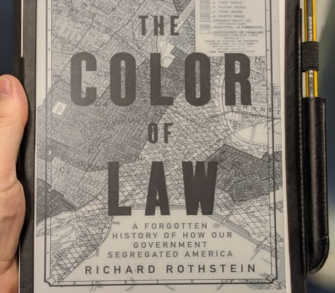 Friday Reads: The Color of Law by Richard Rothstein
