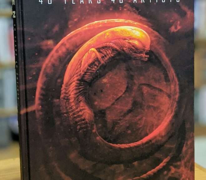 Friday Reads: Alien: 40 Years 40 Artists