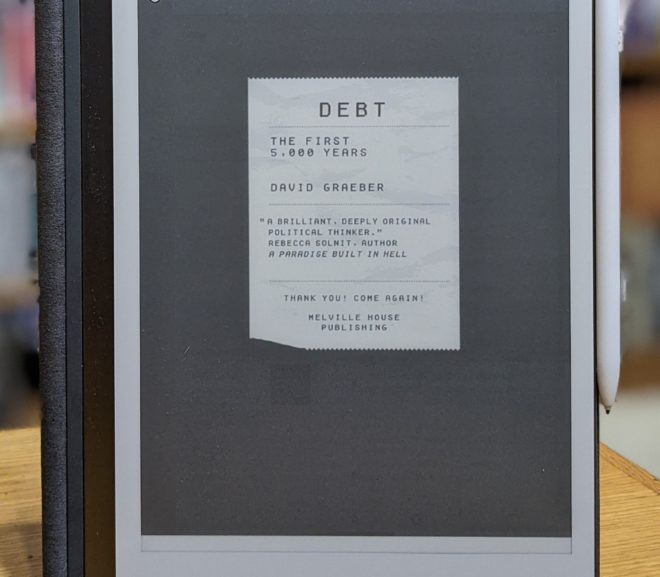 Friday Reads: Debt: The First 5,000 Years by David Graeber