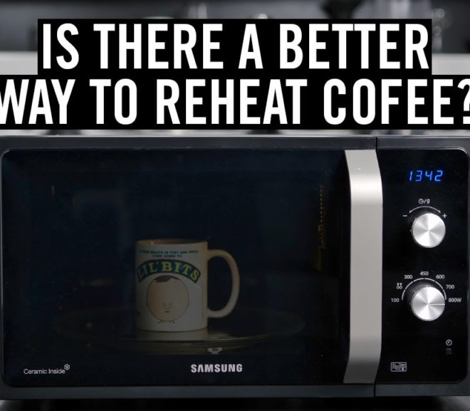 Friday Video: Is there a better way to reheat coffee?