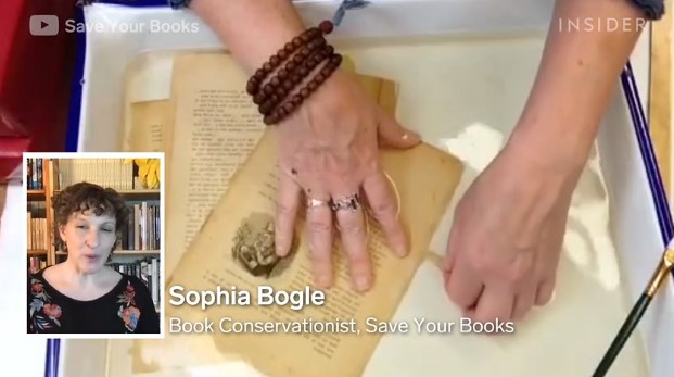 Friday Video: How 100-Year-Old Books are Professionally Restored