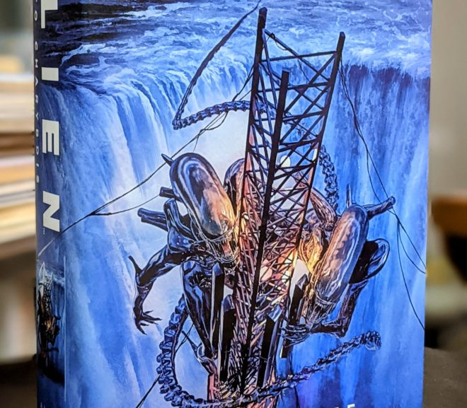 Friday Reads: Alien Into Charybdis by Alex White