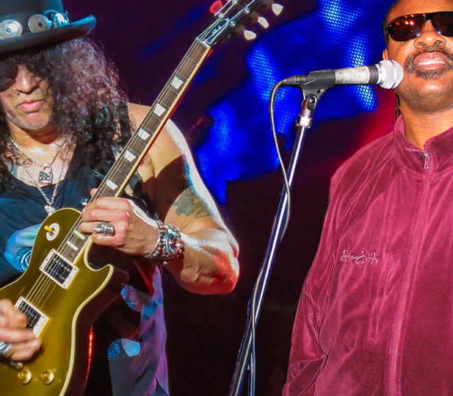 """Mashup Monday: """"Living for the Paradise City"""" Guns n Roses vs Stevie Wonder"""