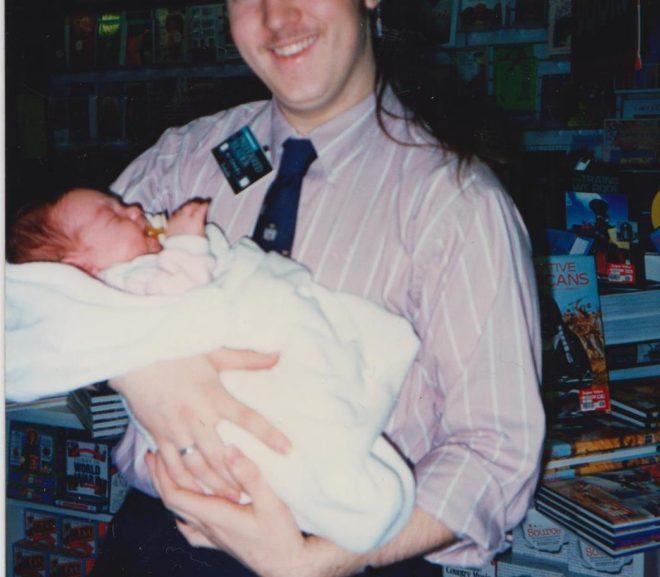 Throwback Thursday: Yep, I had long hair once.