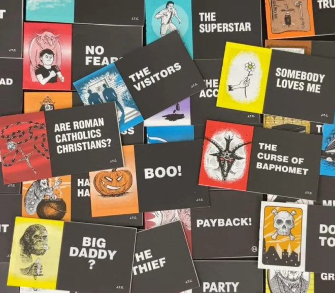 Friday Video: Chick Tracts: Best-Selling Comics of All Time!!!