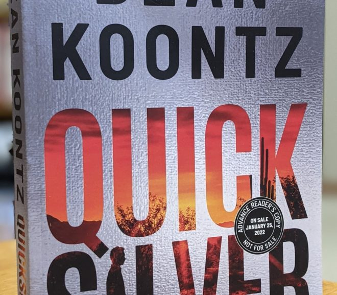 Friday Reads: Quicksilver by Dean Koontz