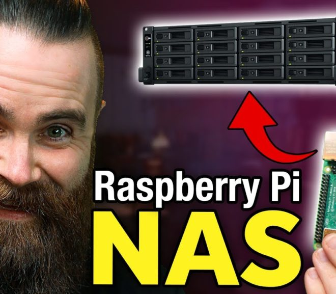 Friday Video: how to build a Raspberry Pi NAS (it's AWESOME!!)
